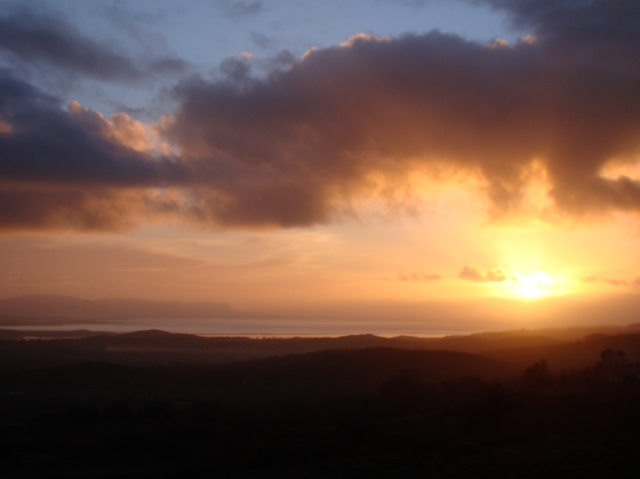 Winter sunset on Donegal Bay