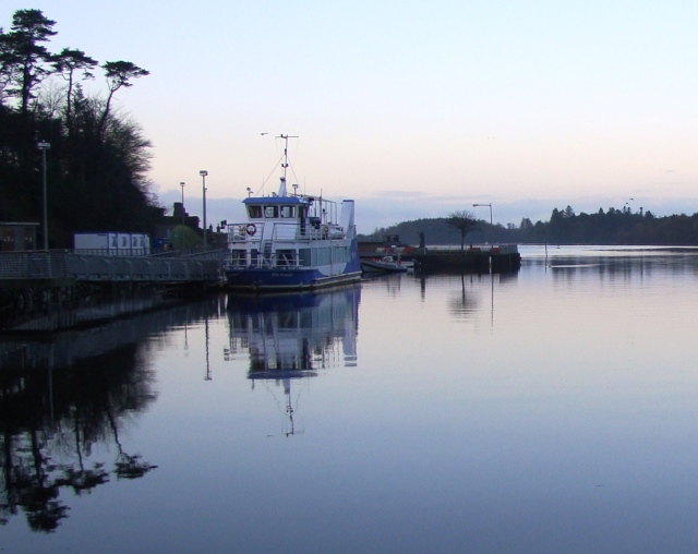 Donegal Bay and Waterbus at first light
