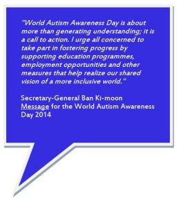 World Autism Day message